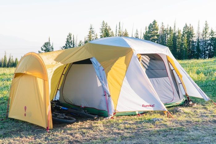 Picture of Boondocker Hotel tent in Field & Tent Care Tips | Eureka!