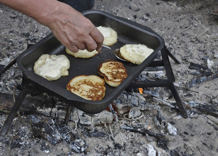25 easy camping recipes using 5 ingredients or less eureka simple pancakes forumfinder Images