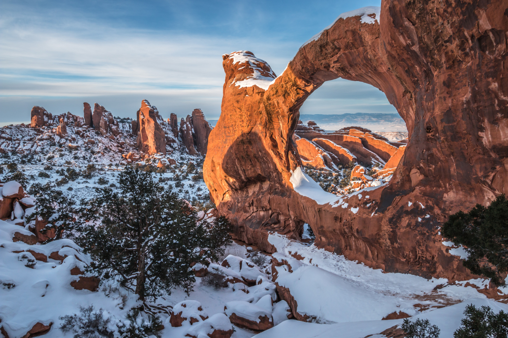 Snowy Solitude The Best Winter Hikes In Arches National